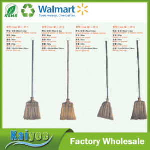 Wholesale Custom Short and Long Handle Natural Palm Bamboo Broom pictures & photos