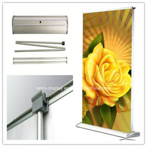 Double Sides Display Stand Banner Stand (DW-LD2 85CM) pictures & photos