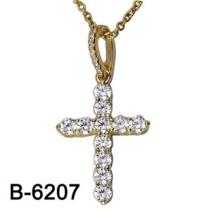 Fashion Jewelry 925 Sterling Silver Cross Pendant pictures & photos