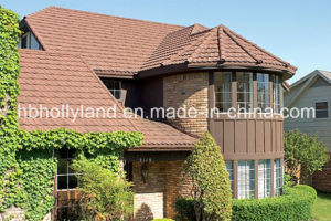 Stone Coated Metal Roof Tile (Milano tile) pictures & photos