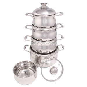 Stainless Steel Cookware Set, Pot Set, Soup Pot, Casserole, Kitchenware pictures & photos