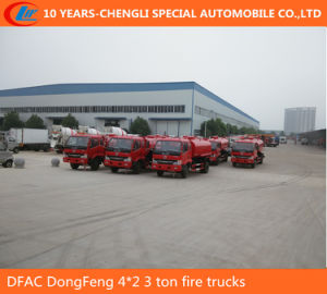 Dongfeng 4*2 3 Ton Fire Trucks, Water Truck Sprinkle pictures & photos