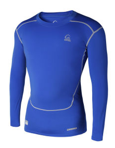 Sports Compression Shirt Training Running for Men Sports Wear (ZRJS201500103) pictures & photos