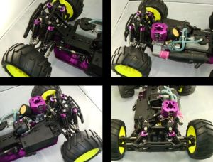 High Speed Nitro Truck 2.4G 4WD Hsp RTR Drift RC Car pictures & photos