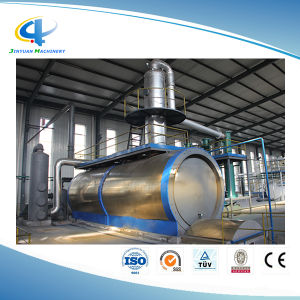 Scrap Tyre Recycling Plant Waste Plastic Pyrolysis Oil Refining System pictures & photos