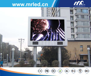 P20mm Full Color LED Video Display Screen as Curved on The Building with Angles for Outdoor pictures & photos