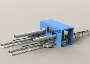 Movable Container Pipe Cutting & Beveling Preparation Work Station pictures & photos