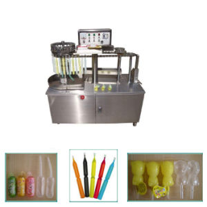 Semi-Automatic Ice Lolly Tube Bottle Filling and Packing Machine Sxc-3000 pictures & photos
