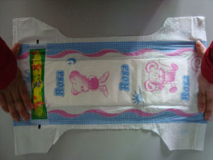 Hot Style Cheap Disposable Baby Diaper with ISO and CE and SGS Certificate (PEP) pictures & photos