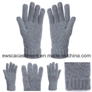 Cashmere Winter Gloves with Five Fingers