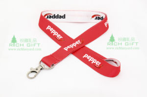 2016 New Design Heat Transfer Printing Starp Lanyard with Dog Clip pictures & photos