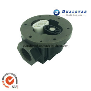 Aluminium Casting Parts with Two Plastic Gear
