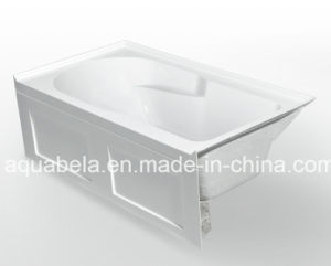One Skirt Acrylic Build-in/Drop-in Building Materials Bathtub pictures & photos