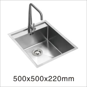 Kitchen Stainless Steel Handmade Kitchenware Sink (5050S) pictures & photos