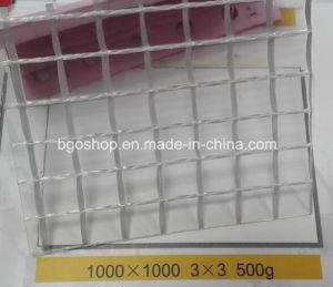 PVC Transparent Mesh Tarpaulin (1000dx1000d 3X3 500g) , File Folder Material, Clear Tent Fabric. pictures & photos