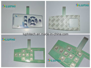 Backlighting Membrane Switch for Mobile Equipment (MIC-0097) pictures & photos