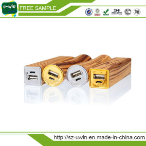Low Price 2600mAh Wooden Power Bank pictures & photos