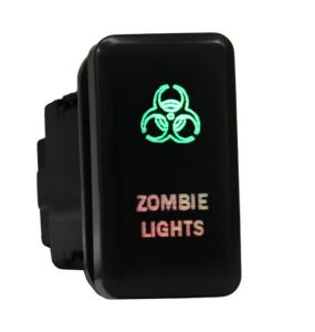 Toyota Push Switch Zombie Lights Symbol - White /Blue/Orange/Green/Red LED pictures & photos
