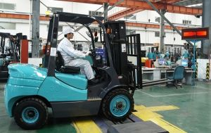3.0t Diesel Forklift with Japanese Engine Auto Transmission, Powershift pictures & photos