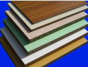 Melamine Board on Particleboard for Furniture (manufacturer) pictures & photos