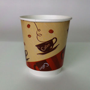 12oz Double Wall Hot Paper Coffee Cup pictures & photos
