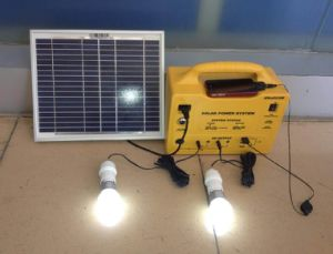 Portable Solar Power System 300W-18ah with LCD Screen pictures & photos