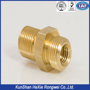 Threaded Brass Precision CNC Turning Machining Parts pictures & photos