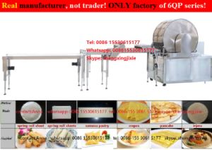 Best Selling Gas/ Electric Heating Crepes Machine/ Spring Roll Machine/ Thin Crepe Skin Machine/ Crepe Machinery/ Flat Pancake Machine (maunfacturer) pictures & photos