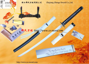 Movie Kill Bill Budd Sword Real Katana Full Tang Handmade Collectible