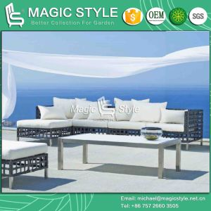 Modern Home Sofa Set Patio Rattan Sofa Set Outdoor Wicker Sofa (Magic Style) pictures & photos