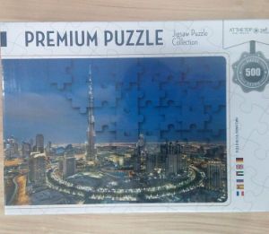 500 Pieces Printing Jigsaws Puzzle Collection Set pictures & photos