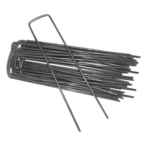 "6"" Galvanized Landscape Staples SOD Staples Garden Stakes Weed pictures & photos"