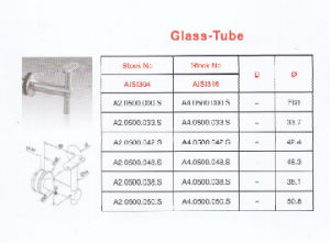 Stainless Steel Handrail Support Glass-Tube pictures & photos