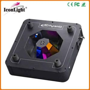 New Pyramided 4*10W LED Stage Beam Light with Scanner pictures & photos