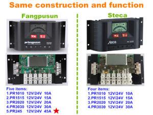 Ce RoHS Fangpusun 12V 24V 30A Solar Charge Controller Pr3030 pictures & photos