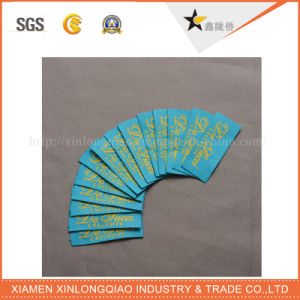 Printer Logo Cloth Clothes Clothing Woven Custom Garment Sticker Printing Label pictures & photos