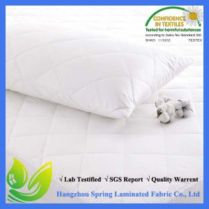 Quilted Double Mattress Protector Made by Tu Machine Washable pictures & photos