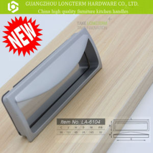 96mm Cc Chrom Plate Hidden Furniture Handle pictures & photos