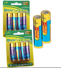 AA Batteries Lr6 Battery Size AA Dry Cell Lr6 Am3 Battery Aluminium Jacket Dry Cell Battery pictures & photos