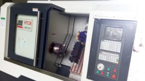 Inclined Guide Rail Slant Bed CNC Lathe (HTC36) pictures & photos