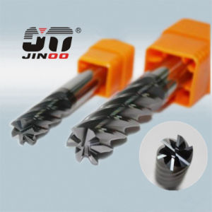 Flat End Mil 6 Flutes Carbide Miliing Cutter pictures & photos