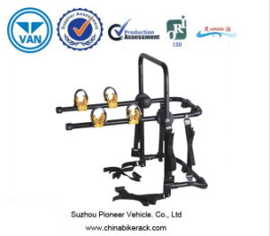 Two Bar Mounted Bike Carrier in Steel pictures & photos