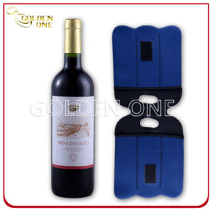 Insulated Custom Neoprene Two -Pack Wine Bottle Holder pictures & photos