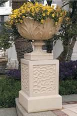 Sandstone Carved Statue Sculpture Flowerpot pictures & photos