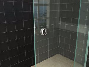 Ebay Online Bathroom Sliding Glass Door Wall to Wall Shower Screen