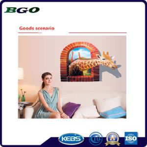 Giraffe Removable Painting 3D Wall Sticker pictures & photos