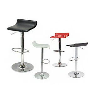 Leather Modern Adjustable Swivel Barstools Hydraulic Chair pictures & photos