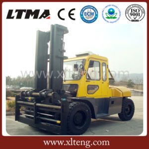 Ltma 12 Ton Diesel Forklift Truck with Cab Parts pictures & photos