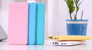 8000mAh Card Colorful Universal Power Bank with LED Light for All Phones pictures & photos