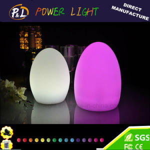 Color Changing LED Egg Night Light for Home Decoration pictures & photos